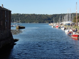 Bangor harbour, the mouth of Afron Cegin